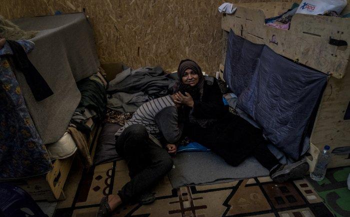 Беженцы из Газы
