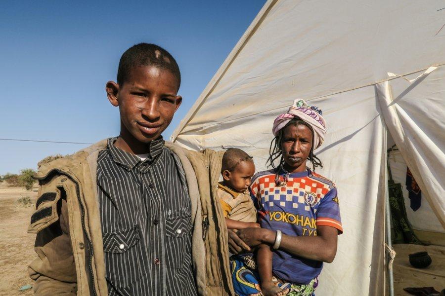 Дико, беженец из северных районов Буркина-Фасо, 17 лет